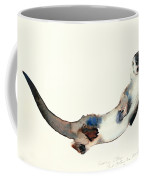 Curious Otter Coffee Mug