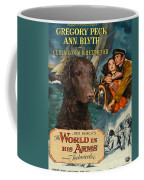 Curly Coated Retriever Art - The World In His Arms Movie Poster Coffee Mug
