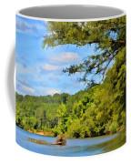 Current River Mo - Digital Paint Coffee Mug