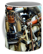 Curtiss Ox-5 Airplane Engine Coffee Mug by Michelle Calkins