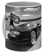 Curvalicious Viper In Black And White Coffee Mug
