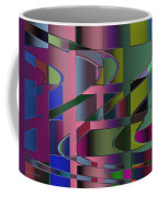Curves And Trapezoids 3 Coffee Mug