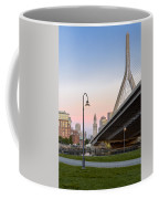 Custom House And Zakim Bridge Coffee Mug