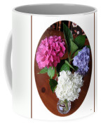 Cut Hydrangeas Coffee Mug