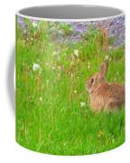 Cute And Fluffy - Digital Painting Effect Coffee Mug