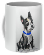 Boston Terrier Wall Art Coffee Mug