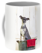 Cute Dog Washtub Coffee Mug