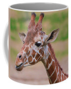 Cute Giraffe Portrait  Coffee Mug