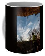 Cutting Feet At Sunset Coffee Mug
