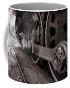 Cutting Through The Steam Coffee Mug