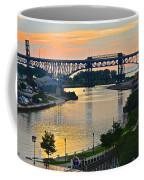 Cuyahoga River Cleveland Ohio Coffee Mug