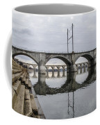 Cv - Susquehanna River Bridge Harrisburg  Pennsylvania Coffee Mug