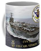Cvn-70 Uss Carl Vinson Coffee Mug