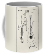 Cw Russell Acoustic Electric Guitar Patent 1939 Coffee Mug