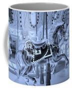Cyan Horse Coffee Mug