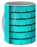 Cyan Wall Coffee Mug
