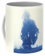 Cyanotype Cemetery Coffee Mug