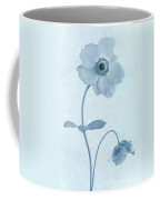 Cyanotype Windflowers Coffee Mug