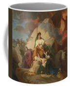 Cybele Opposing Vesuvius To Protect The Cities Of Stabia Coffee Mug