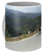 Cycling In Greek Mountains Coffee Mug