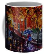 Cycling In The Rain Coffee Mug