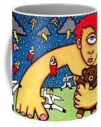 Cyclops I Want To Sleep Coffee Mug