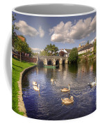 Cygnets At Christchurch  Coffee Mug