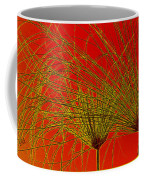 Cyperus Papyrus Abstract Coffee Mug