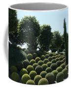 Cypress And Boxwood Garden Coffee Mug