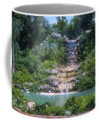 Cypress Garden Waterfalls Coffee Mug