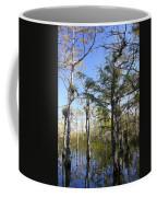 Cypress Swamp Coffee Mug by Rudy Umans