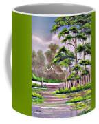Cypress Trees-wakulla River Florida Coffee Mug