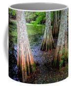 Cypress Waltz Coffee Mug by Karen Wiles