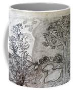 Cypresses In Cyprus Coffee Mug