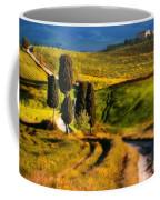 Cypresses Of Toscany Coffee Mug
