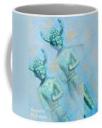 Cyprus Gods Of Trade. Coffee Mug by Augusta Stylianou
