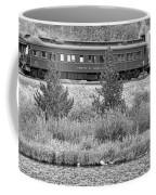 Cyrus K  Holliday Private Rail Car Bw Coffee Mug