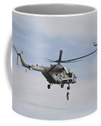 Czech Air Force Mi-171 Hips Training Coffee Mug