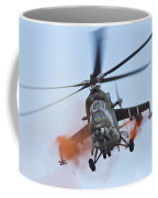 Czech Air Force Mi-35 Hind Helicopter Coffee Mug