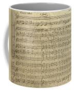 Czech Republic Prague Symphony No. 38 In D Major Called Prague Symphony Coffee Mug