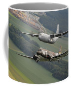 D Day Past And Present Coffee Mug