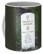 D. H. Johnson - Medal Of Honor Coffee Mug