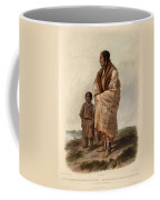 Dacota Woman And Assiniboin Girl Coffee Mug