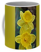 Daffodil Duet By Jrr Coffee Mug