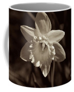Daffodil In Black And White Coffee Mug