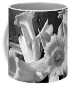 Daffodil Monochrome Study Coffee Mug