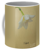 Daffodil On Yellow Coffee Mug