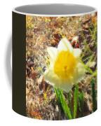 Daffodil Under Water Coffee Mug