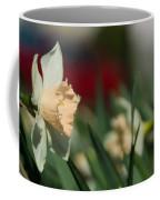 Daffodil With A Splash Of Red Coffee Mug