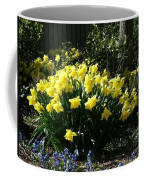 Daffodils And Bluebells Coffee Mug